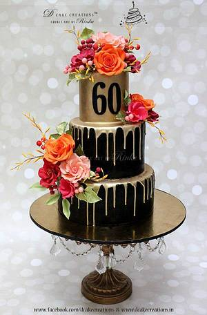 Black Beauty - Cake by D Cake Creations®