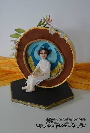 Star Wars - Princess Leia - Cake by Mila - Pure Cakes by Mila