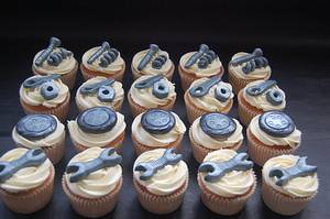 Mechanic Cupcakes - Cake by Ruth's Cake House