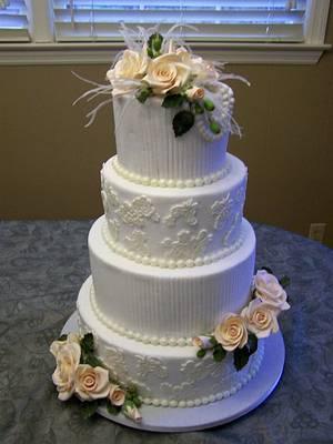 Stark Wedding - Cake by Theresa