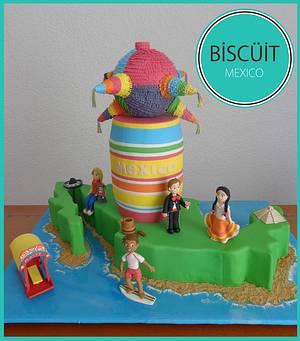 ¡¡VIVA MEXICO!! - Cake by BISCÜIT Mexico