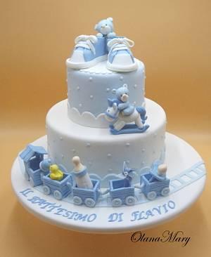 Battesimo - Cake by Olana Mary