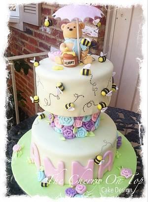 Classic Pooh Bear Birthday Cake - Cake by Jamie Hodges