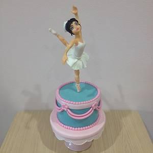 Ballerina Cake - Cake by Valeria Antipatico