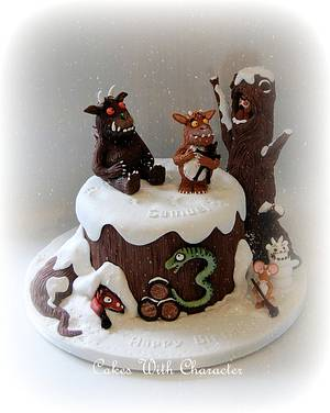 The Gruffalo's Child - Cake by Cakes With Character