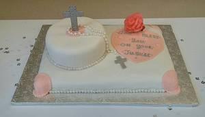 "SISTER JULIAN'S JUBILEE CAKE - Cake by June (""Clarky's Cakes"")"