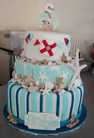 Nautical cake - Cake by Sonia Eddy