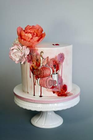 Nail polish - Cake by tomima