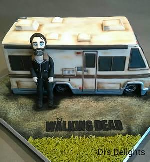 The Walking Dead RV Cake - Cake by Di's Delights