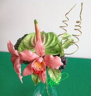 Cake Decorations - Cake by kili