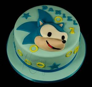 Sonic! - Cake by Sweet Harmony Cakes