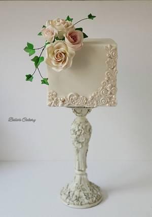 Anniversary cake! - Cake by Bella's Cakes