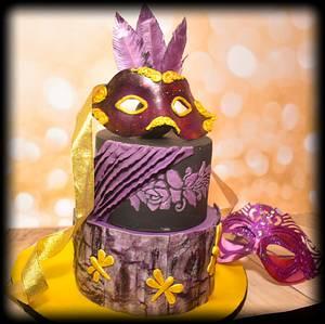 Cakerbuddies Collabration: Allure - Cake by Pooja Sodani