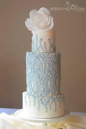 Floating Blossoms - Cake by Rebekah Naomi Cake Design