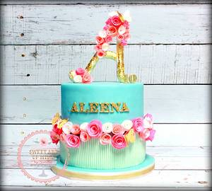 Princess Aleena's Big 10 - Cake by Sunitha Jossey