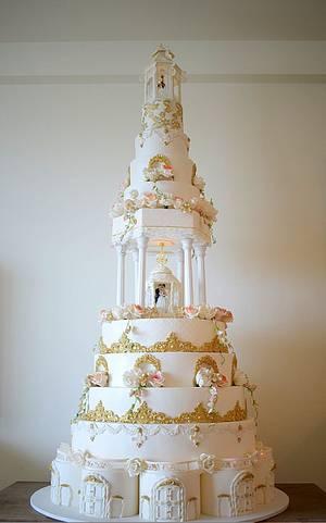 Mid-Summer Grandiose  - Cake by Indulgence by Shazneen Ali