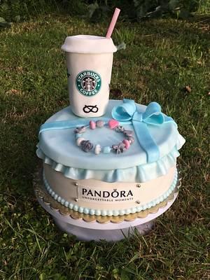 Pandora cake - Cake by Janinka