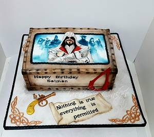 Assassin's Creed  - Cake by Tascha's Cakes