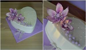 Lovely heart - Cake by Zaklina