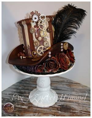 My Steampunk Vintage Hat - Cake by Eve´s Zucker-Himmel