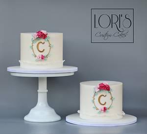 Twinsies!  - Cake by Lori Mahoney (Lori's Custom Cakes)