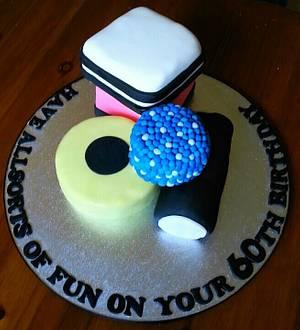 Bassetts Liquorice Allsorts  - Cake by Tracey