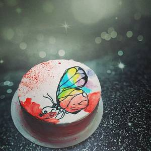Colors of Life - Cake by aayotee mukhopadhyay