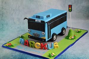 Tayo the little bus.. - Cake by Hima bindu