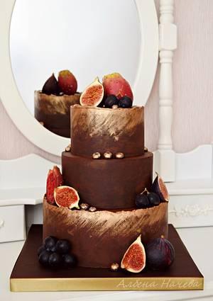 Autumn fruits cake - Cake by Albena Nacheva