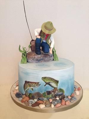 Fishing cake - Cake by tomima