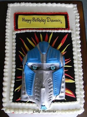 Optimus Prime - Cake by Donna Tokazowski- Cake Hatteras, Hatteras N.C.