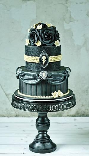 Gothic cake - Cake by Tamara