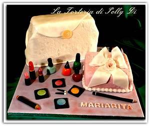 Make up che passione !!! - Cake by La Torteria di Polly Dì