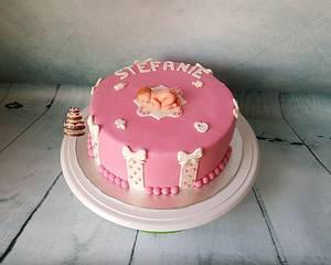 Babyshower cake - Cake by Pluympjescake
