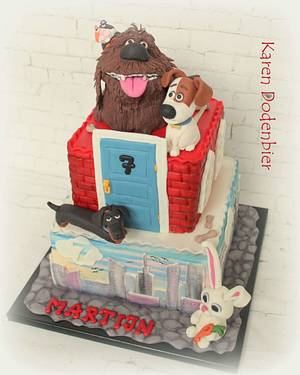 Secret Life of Pets cake  - Cake by Karen Dodenbier