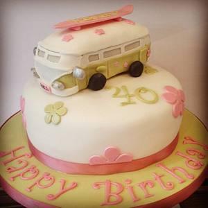 Camper Van Cake - Cake by Gill Earle
