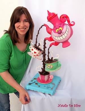 The Hour of the Tea - Cake by Natalia Da Silva Carmona