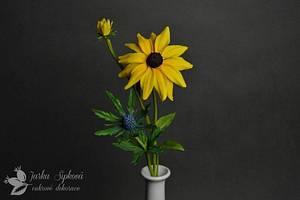 Rudbeckia Flower - Cake by JarkaSipkova