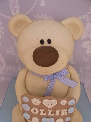Little Bear Cake...x. - Cake by Lulu Belles Cupcake Creations