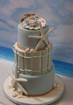 Florida Baby Shower - Cake by Margie