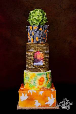 Let's Fall in Love! - Cake by Kamal Charan