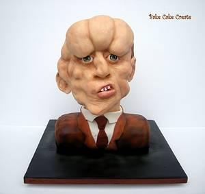 The Elephant Man - Cake by Karen Geraghty
