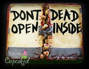 Don't Dead?...Open Inside?? - Cake by You've Been Cupcaked (Sara)