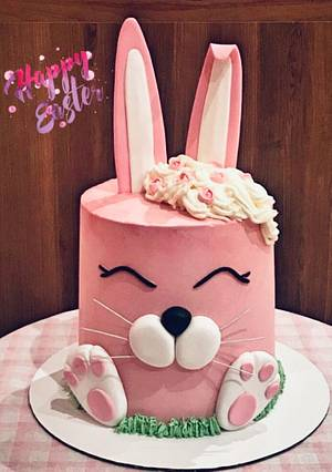 Happy Easter 🐰💗 - Cake by Lallacakes