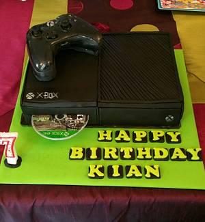 XBOX 1  - Cake by CAKE RAGA