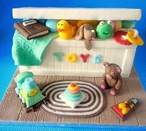 TOY BOX CAKE - Cake by SweetFantasy by Anastasia
