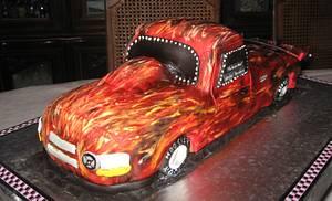 Race Truck - Cake by Poey