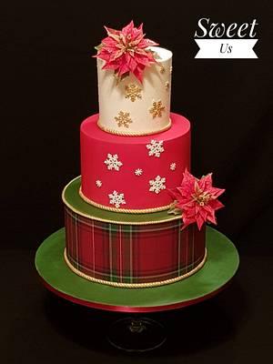Magic Christmas - CPC Christmas Collaboration - Cake by Gabriela Doroghy