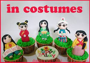 National Costumes - Cake by Diana