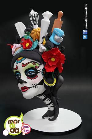 Sugar Skull Bakers Collaboration 2016 - Cake by Daniela Garza